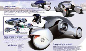 Ниссан представит на конкурс робомобиль OneOne