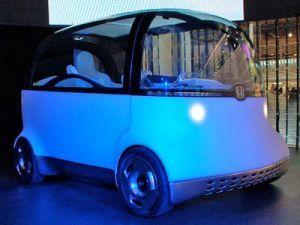 Хонда продемонстрировала эмульсионный PUYO Концепт