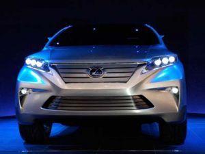 На Токийском автомобильном салоне продемонстрировали Лексус LF-Xh