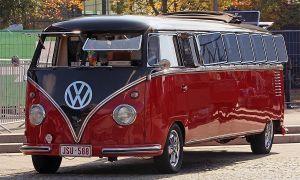 В Ганновере был представлен микроавтобус-лимузин Фольксваген