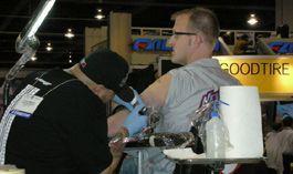 Шины предоставляют в размен на тату