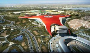 Феррари начала создавать актуальный парк в Абу-Даби