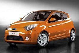 Свежий Форд Ка продемонстрируют в начале сентября 2008 года