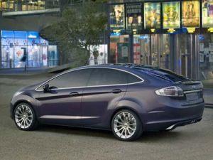 Форд представляет 4-дверный концепт Verve