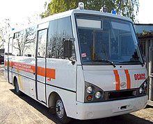 На основе автобуса I-VAN сделан аварийно-спасательный авто