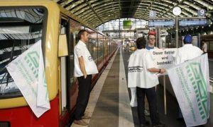 После месяца забастовок транспортникам Германии увеличили заработную плату