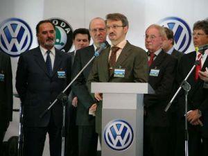 Фольксваген открывает автозавод в РФ