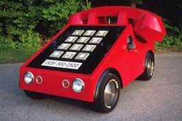 Из авто сделали телефонный аппарат
