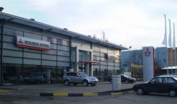 Изобретение классического торгового центра Мицубиси Моторс в Николаеве