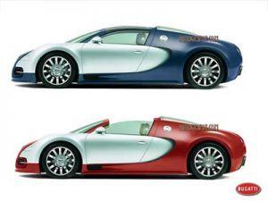 Bugatti Veyron Targa сдержат скорость