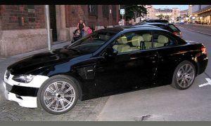 Размещены разведывательные фото автомобиля с откидным верхом БМВ М3 2008