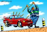 Француз украл автомашину в присутствии стража порядка