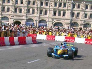 В городе Москва разработали автотрассу «Формулы-1»