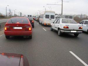 На 12 улицах Киева будет введено однобокое перемещение