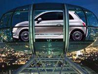 Премьера Фиат 500 в Англии будет проходить на колесе рапорты