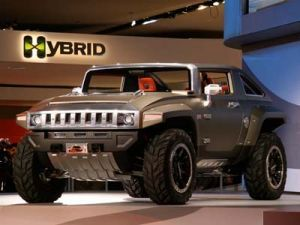 Детройт 2008: Hummer продемонстрировал трансформер HX