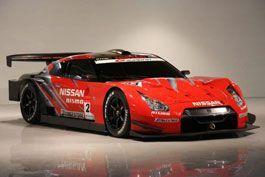 Ниссан продемонстрировал гоночный GT-R