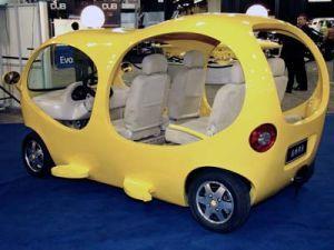 Детройт: Японский автомобиль-пузырь Tang Hua