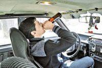 20% юных англичан согласны двигаться с нетрезвым автолюбителем