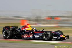 Red Bull провел первые испытания автомашины 2008 года