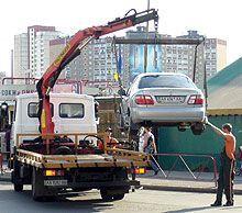 Эвакуаторы в Киеве на время закончили работать. ГАИ занята лишением водительских прав