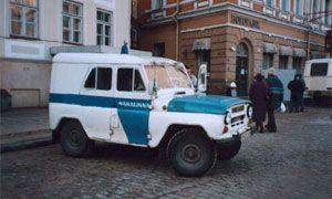 Все милиционерские автомашины в РФ оборудуют ГЛОНАСС-навигаторами