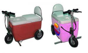 Морозильник на колесиках разгоняется до 20 км/ч
