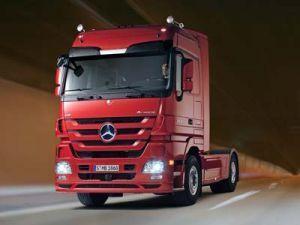 Мерседес Actros – первый во всем мире грузовой автомобиль с автоматической КП