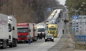 Автотранспортный колапс в Польше дерзает сказаться на экономике Украины