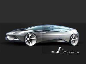 Pininfarina делает концепткар Sintesi