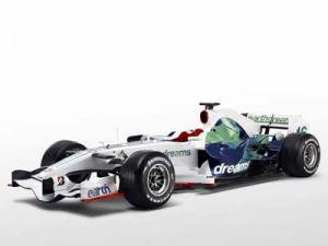 Свежий болид Хонда RA108 вновь на работе экологии