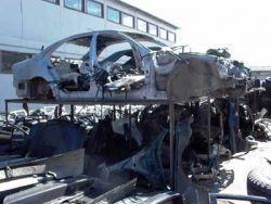 Во Львове замечен пункт разукомплектовки краденых авто