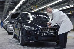 БМВ произвела 5-милионный авто 5 Серии.