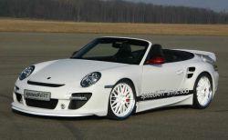 SpeedArt «зарядила» автомобиль с откидным верхом Порше 911 Турбо