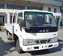 JAC повышает собственное наличие на рынке Украины