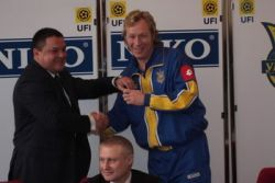 Ассоциация футбола Украины и организация «Торговый дом «НИКО» подписали договор о партнерстве