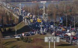 Московские власти планируют на 25% повысить пропускную дееспособность моста Патона