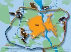 Киевоблсовет утвердил генплан возведения Большой круговой автодороги