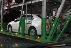 Новая азиатская Хонда Аккорд заснята на перевозчике!