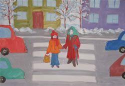 На Украине начнется всеукраинский конкурс детского чертежа Безопасность движения –это жизнь