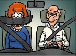 Отчего автолюбители не пристегиваются?