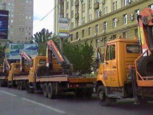 Эвакуаторы в городе Москва могут снова запретить