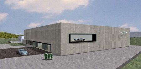 Астон Мартин раскроет на Nurburgring тест-центр