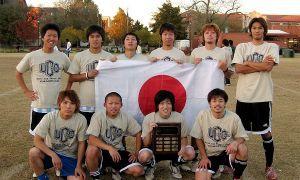 Пьяные японские футболисты разбили авто