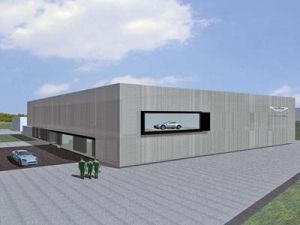 Астон Мартин раскроет тест-центр на автотрассе Нюрбургринг