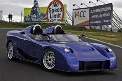 Австралийский супер-кар E-Vade атакует гоночную автотрассу!