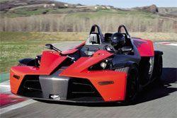 KTM предствит в Женеве стоковый X-Bow Dallara