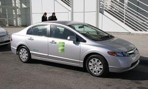 Хонда Цивик GX назвали самым зеленым авто года