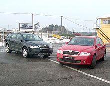 На Украине представили Шкода Октавия A5 RS и Скаут