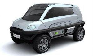 Magna Steyr представит компактный кроссовер MILA Alpin